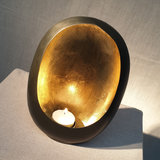 Egg Candle Holder Small Zinc_