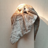 Throw Fake Fur Silver Otter 130x170_