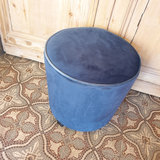 Pouf Velvet Royal Blue H45xD45_