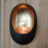 Egg Candle Holder Wall Zinc_