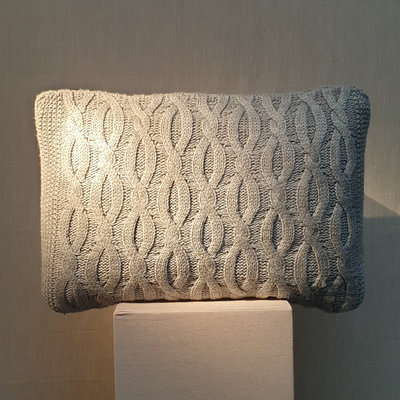 Cushion Haven Grey 40x60