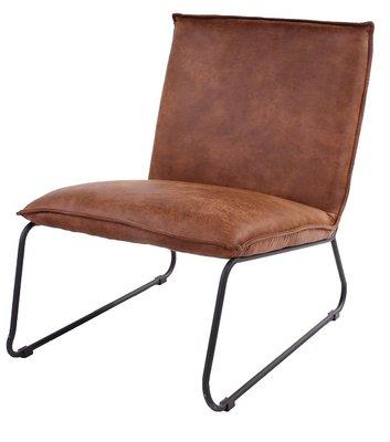 Lounge Chair Logan Cognac Hidelook