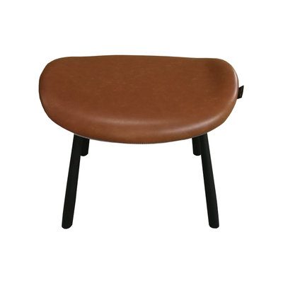 Kelly Footstool Ginger pu