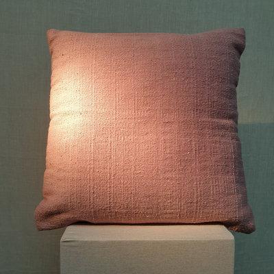 Cushion Cotton Bordeaux Red 45x45
