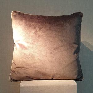 Cushion Velvet Royal Grey 45x45
