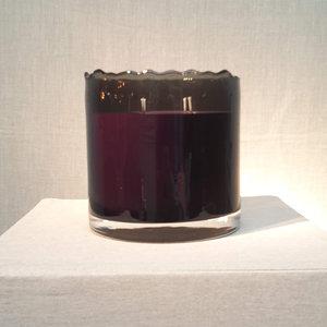Scented Candle Black Organic 'Ebene' Big