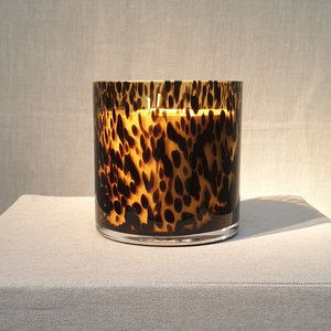 Scented Candle Spotted 'Savane' Medium