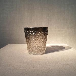 Cristelle Votive Silver Clear H8 D8
