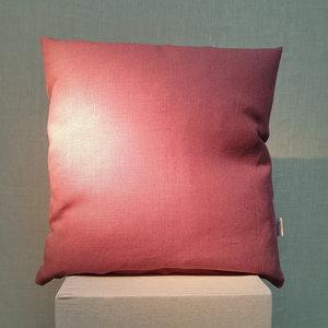 Cushion Linen Basic Ginger Red 45x45