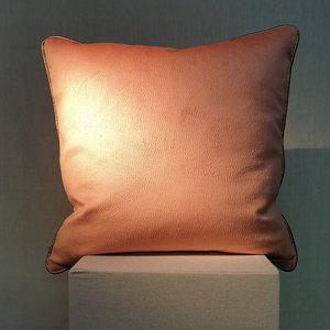 Cushion Soft Apricot 50x50